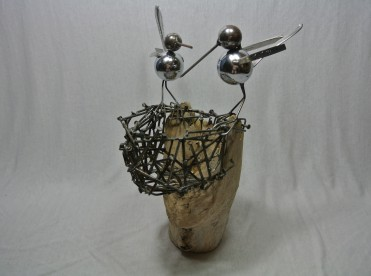Les Créations FerÉcho (Marius Blais) - Sculptures made with recycled materials